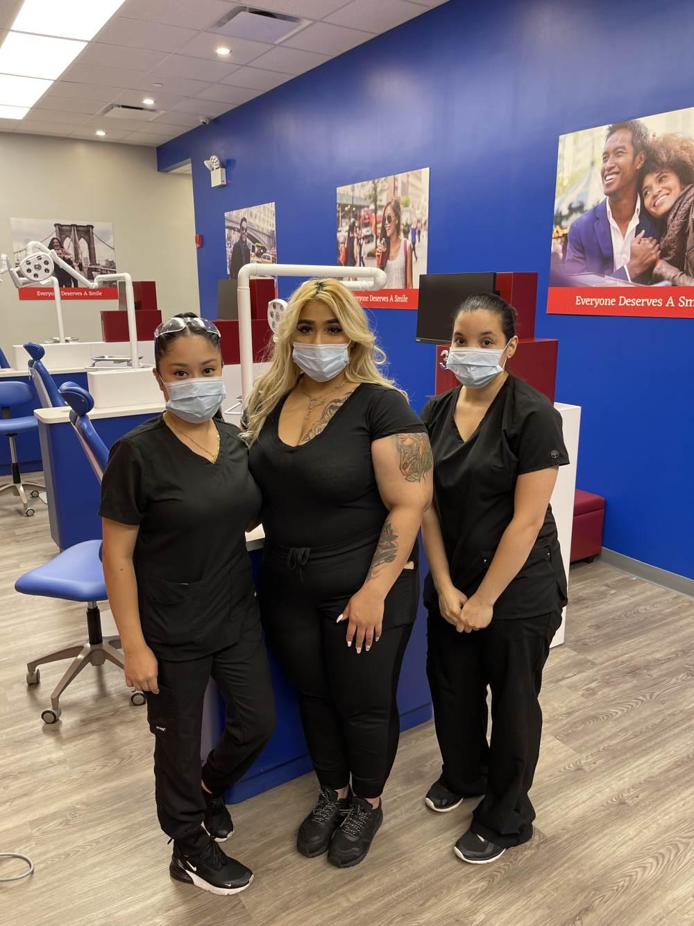 Diamond Braces orthodontic team at Great Kills, Staten Island office on Hylan Blvd.