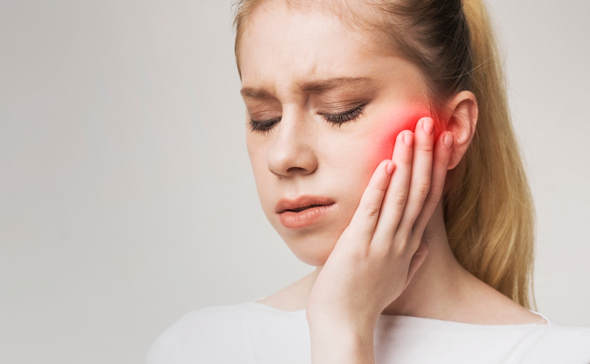 A dental patient suffering from TMJ Disorders, or TMD