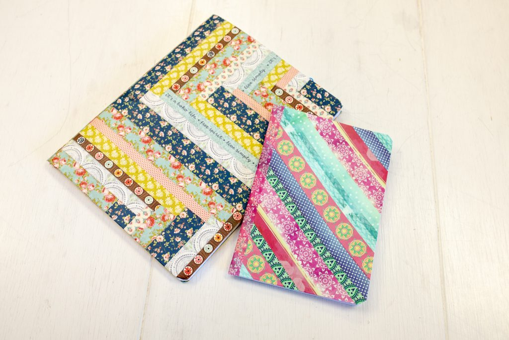 wash tape prayer journals