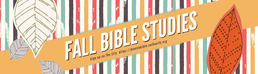 Fall 18 Bible Studies Websplash