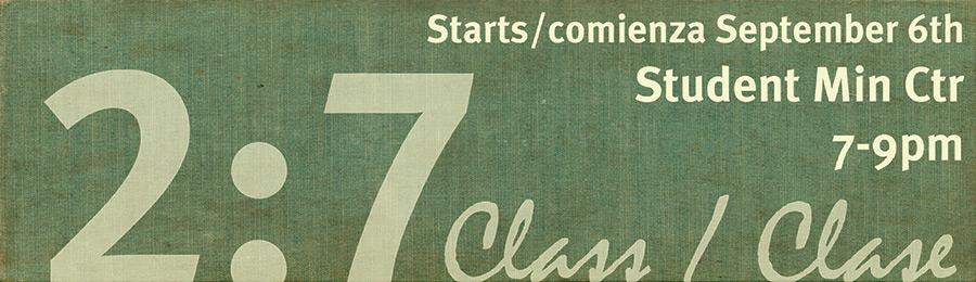 2:7 Classes