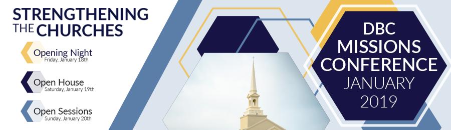 Mission Conference Banner