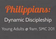 Philippians Dynamic Discipleship