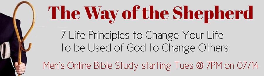 Way of the shepherd men's bible study