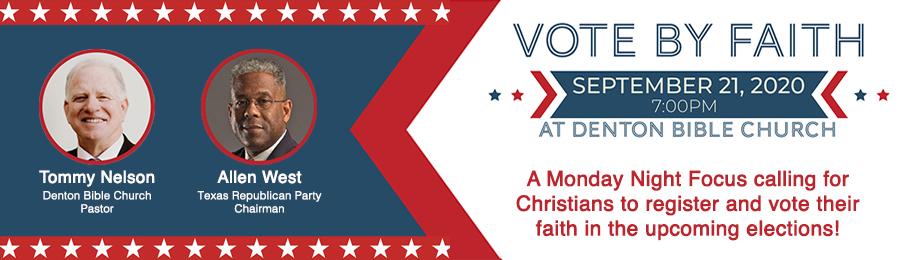 Vote Your Faith