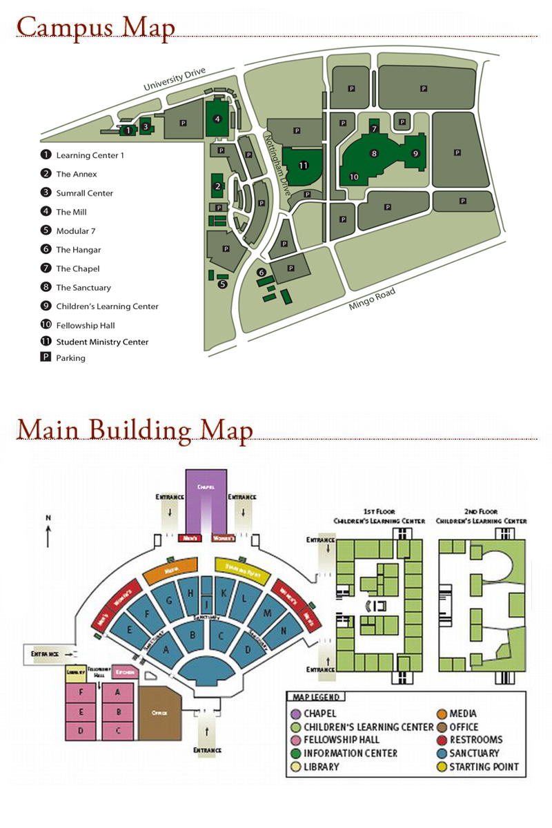 Campus Map on