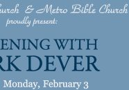 An Evening with Mark Dever