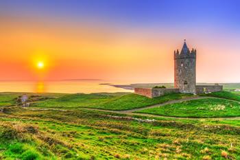 アイルランドの城