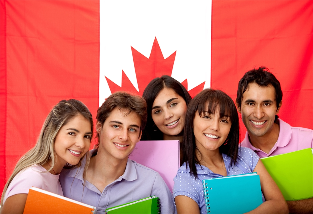カナダの学生
