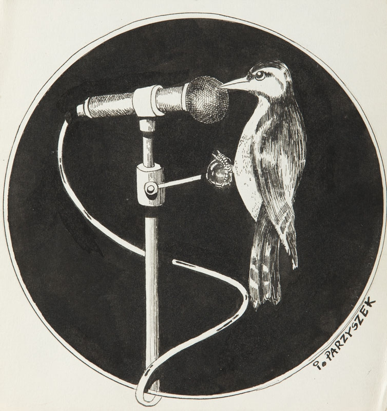 Ilustracja Do Wiersza Ptasie Radio Juliana Tuwima