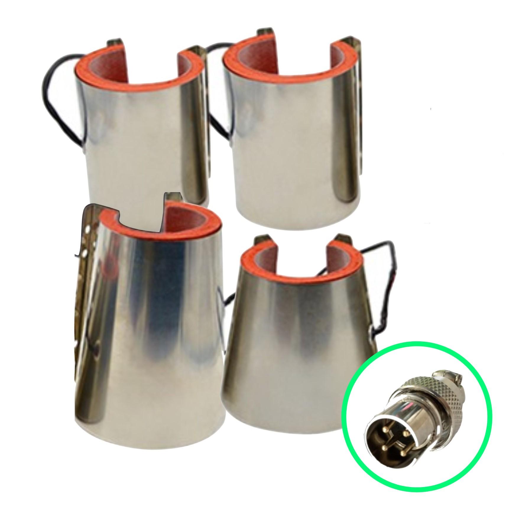 Accesorios para Mug Press conector macho