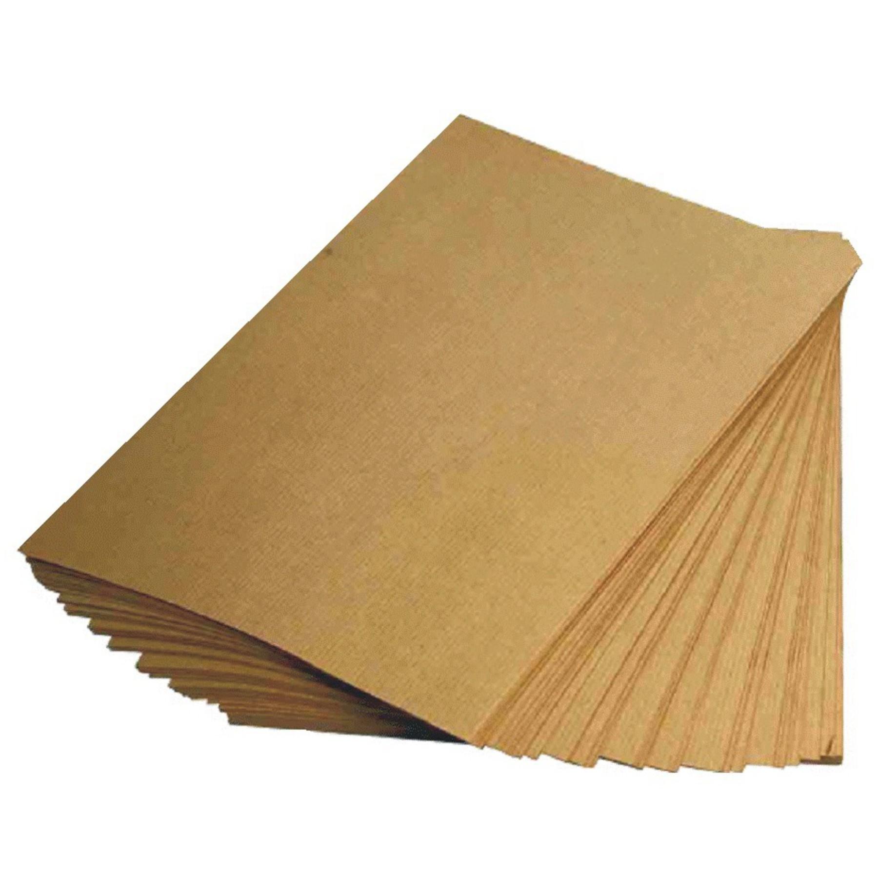 Cartulina Kraft 125 grs. 20 hojas carta