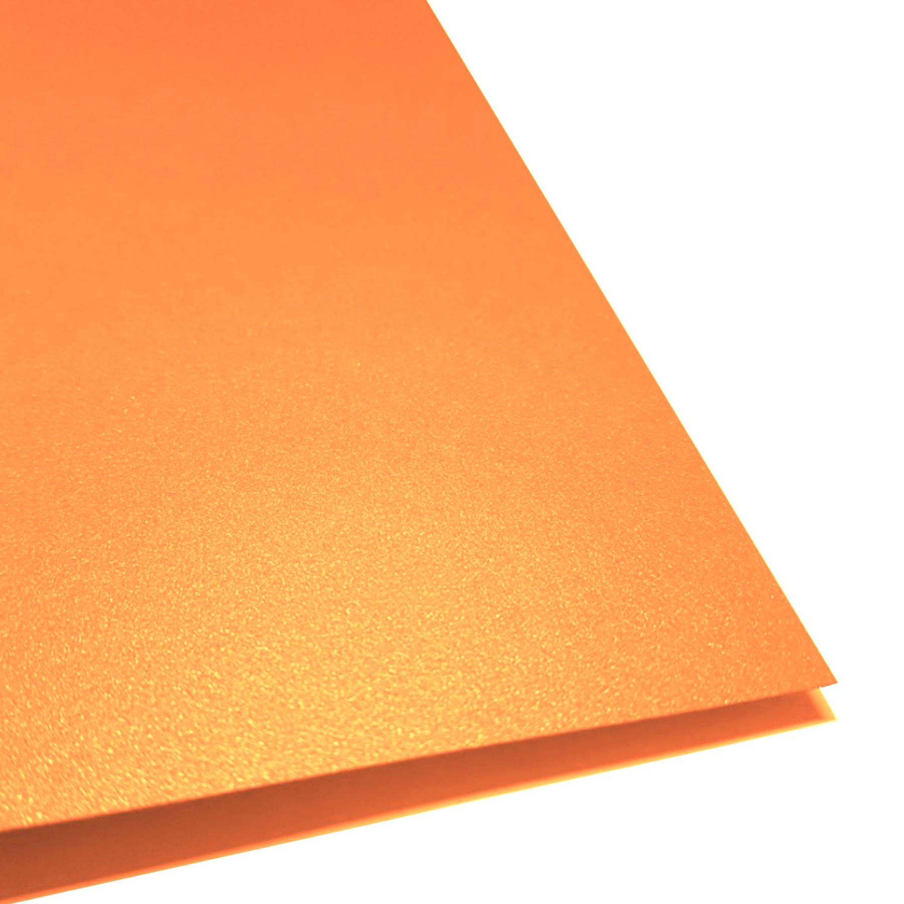 Cartulina perlescente cobre 20 hojas carta