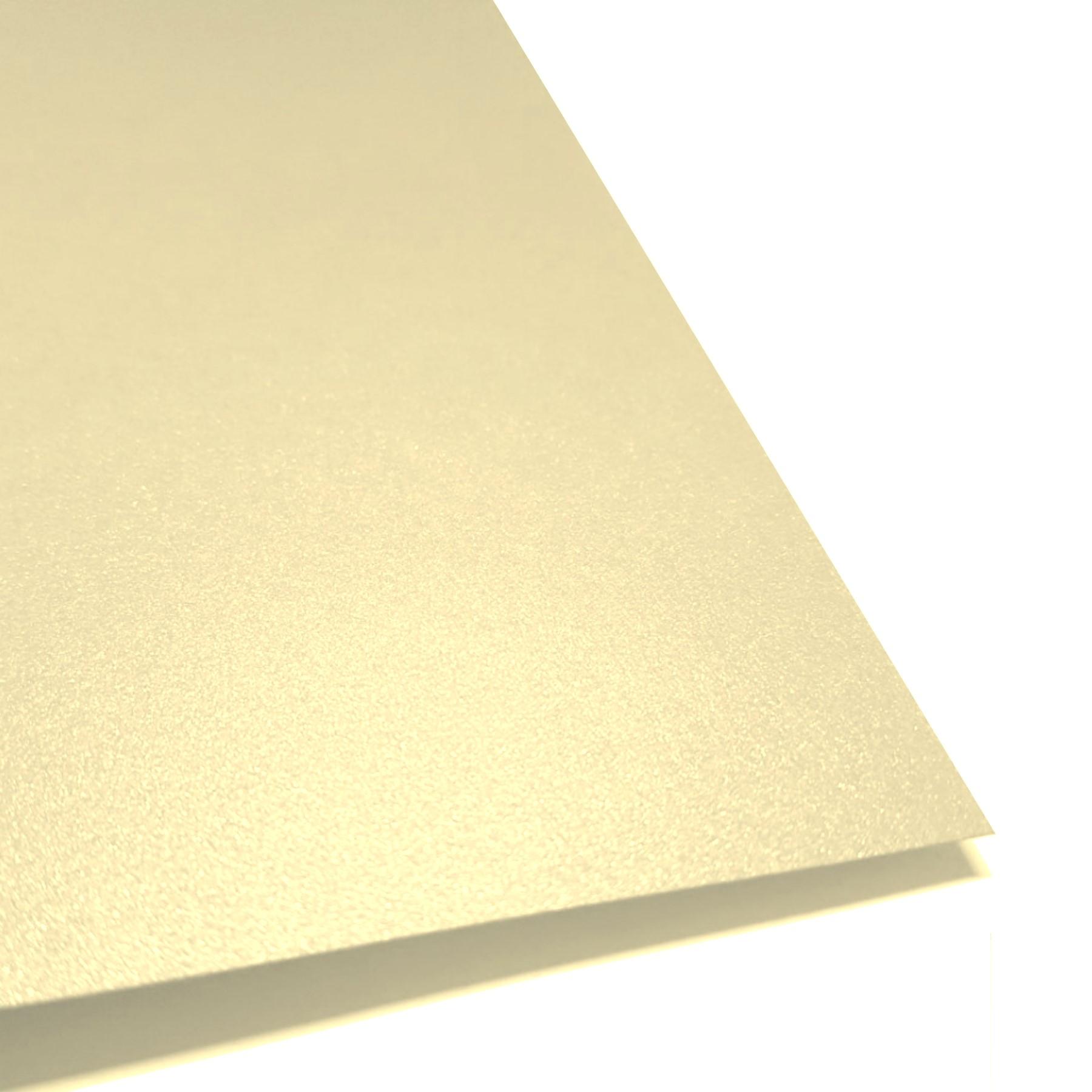 Cartulina perlescente oro claro 20 hojas carta