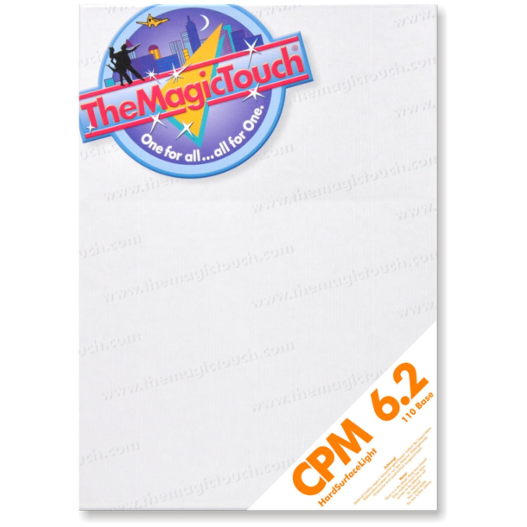 CPM 6.2 Transfer superficies rígidas no textiles, 10 hojas A4