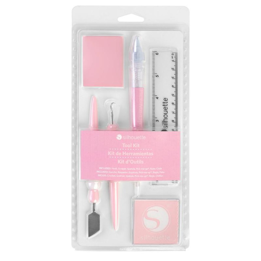 Kit de herramientas rosado