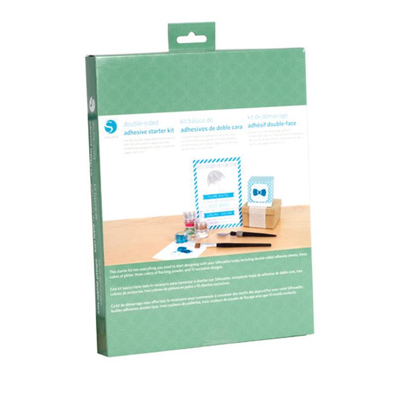 Kit de inicio adhesivo doble cara tarjetería