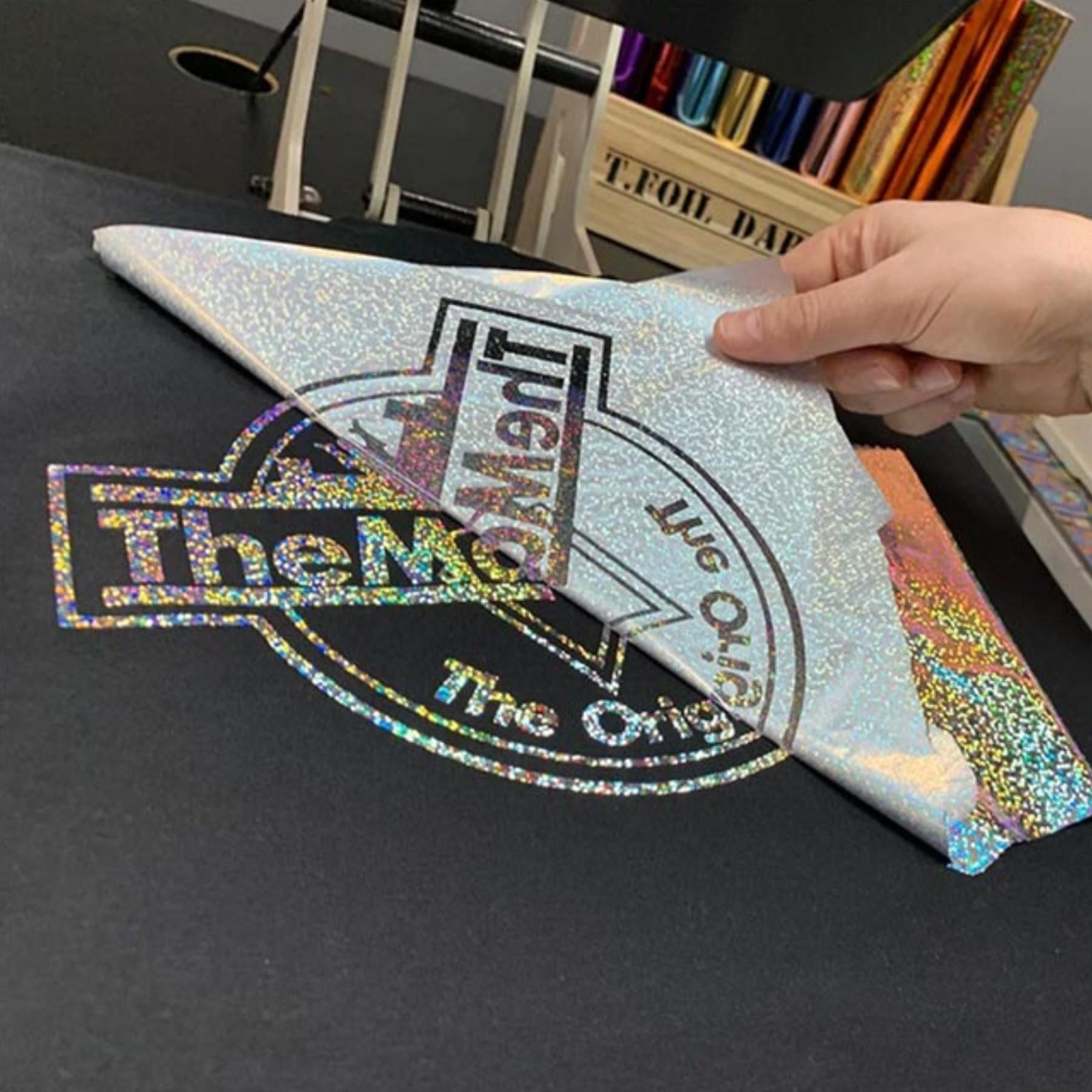 Lámina adhesiva textil para folia 30 cm de ancho