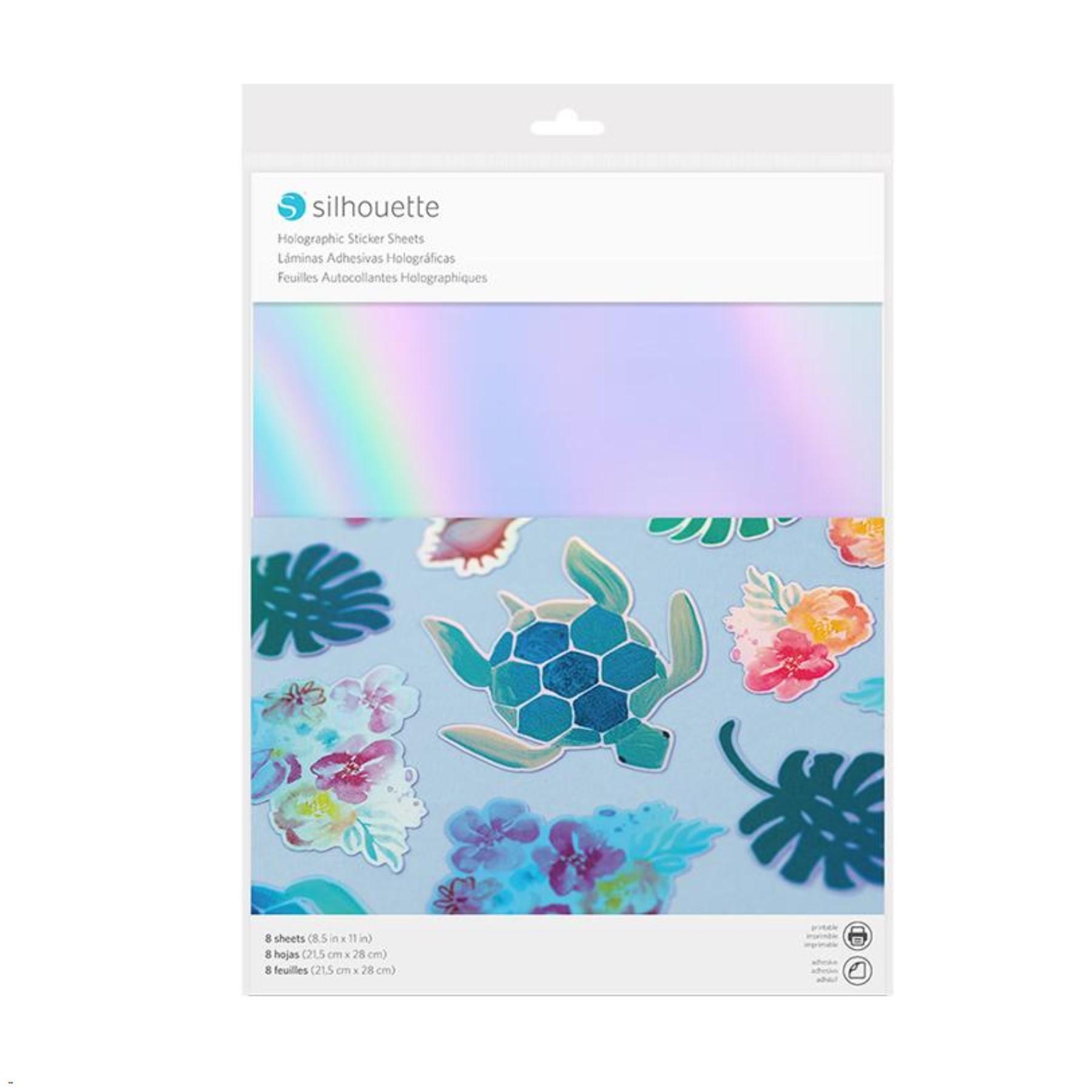 Láminas holográficas adhesivas