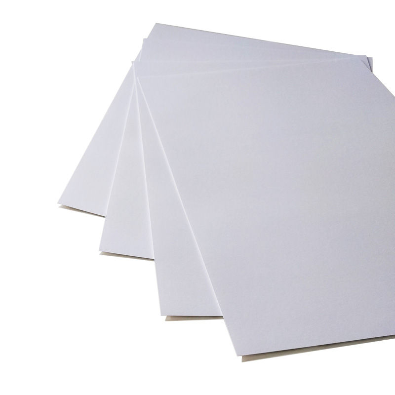Opalina lisa blanca 200 grs. 20 hojas carta