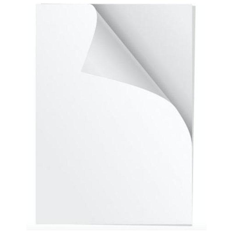 Papel autoadhesivo matte 20 hojas carta