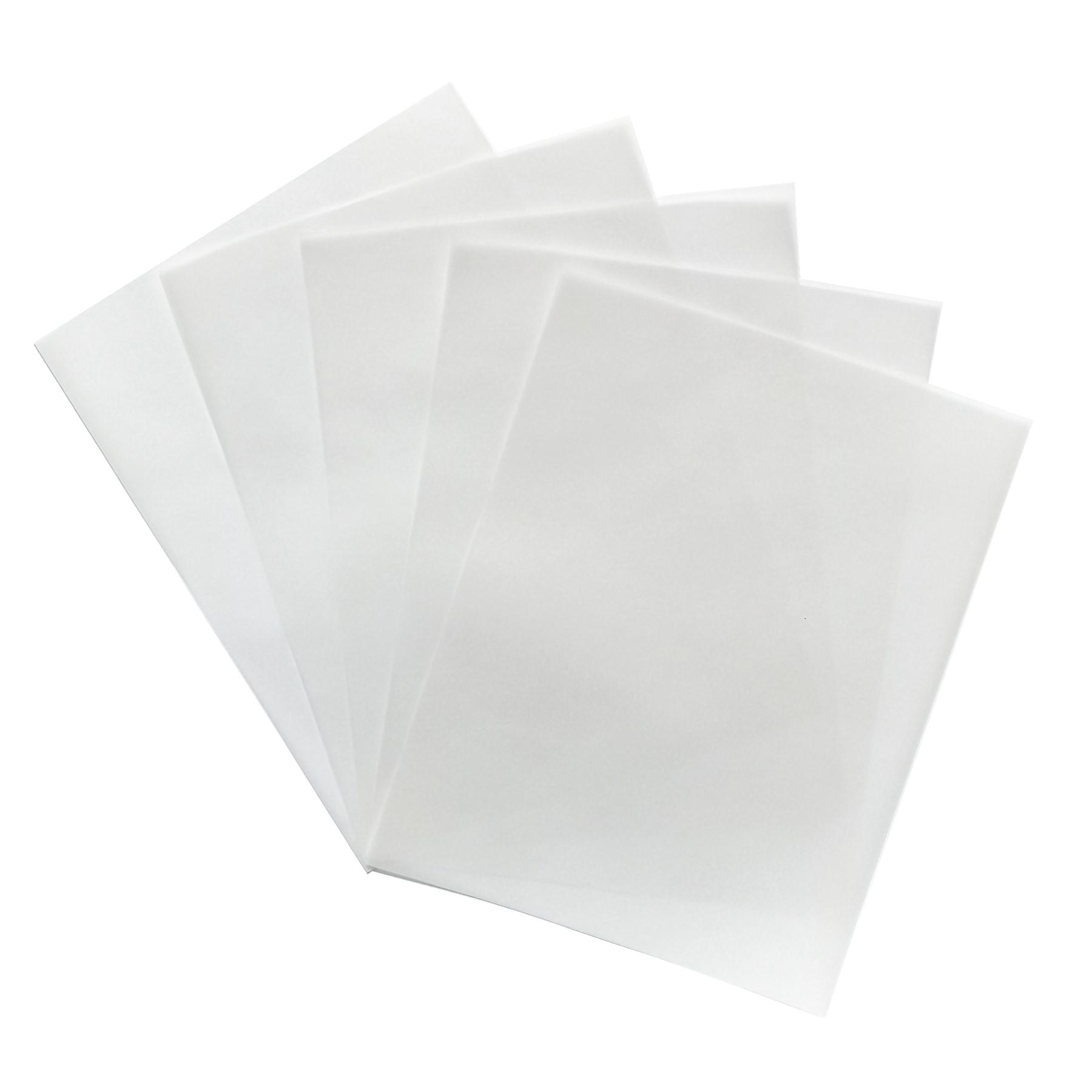 Papel pergamino 93 grs. 20 hojas carta