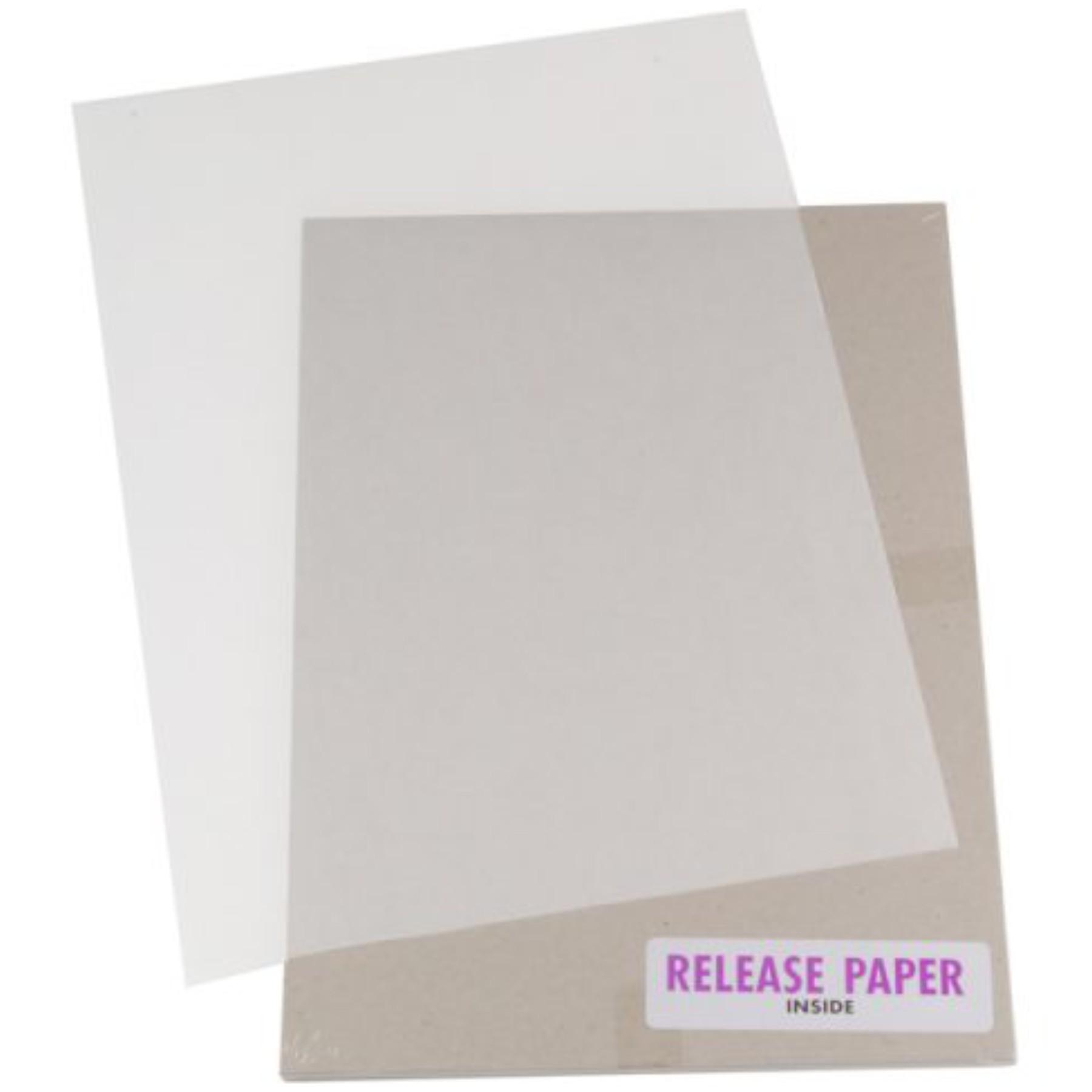 Papel siliconado A4 (10 hojas)
