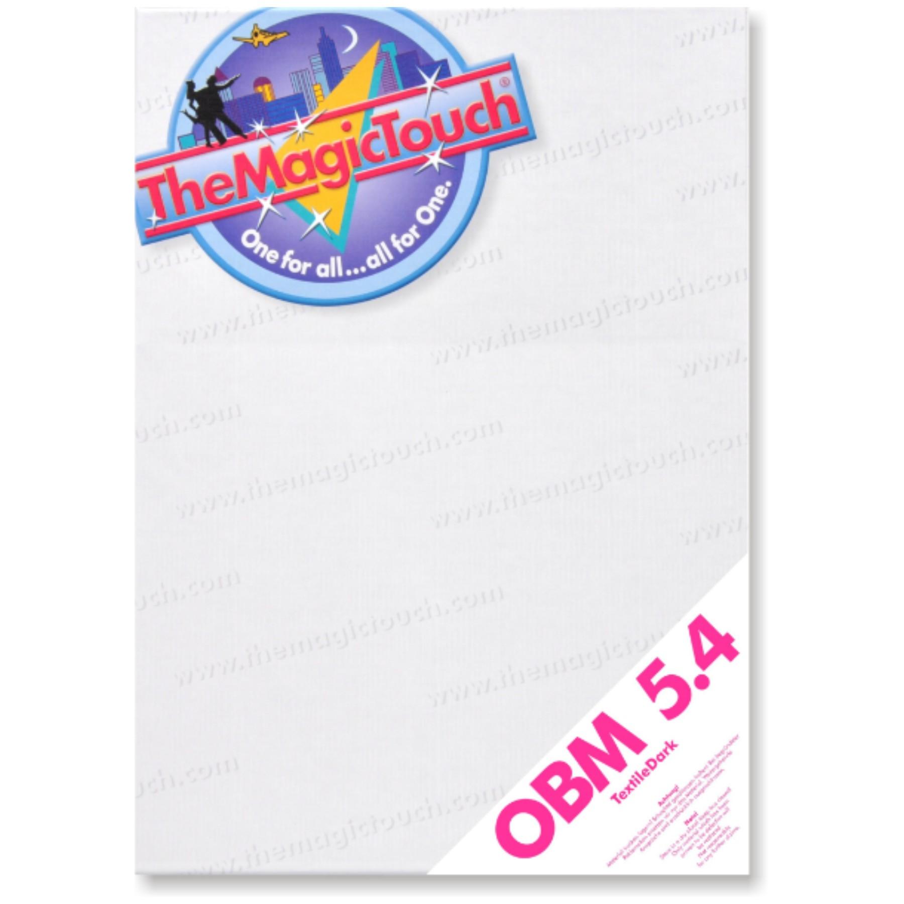 Papel transfer para telas oscuras OBM 5.4, 10 hojas A4