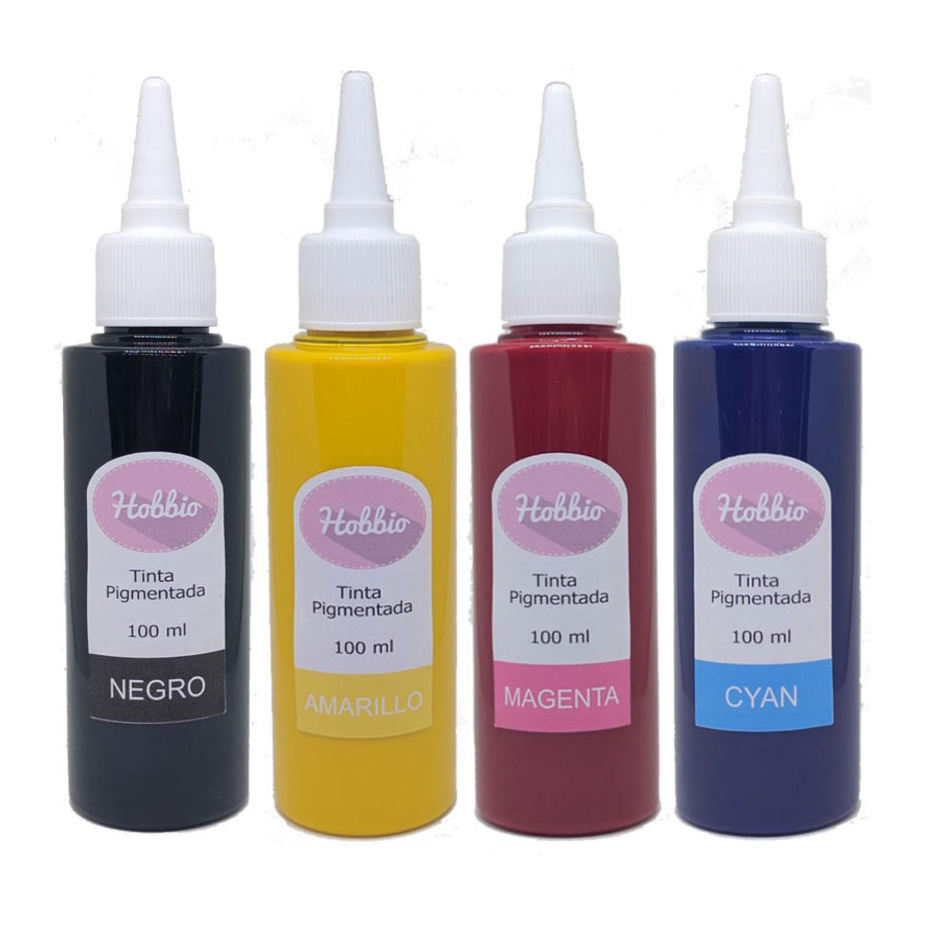 Tintas pigmentadas