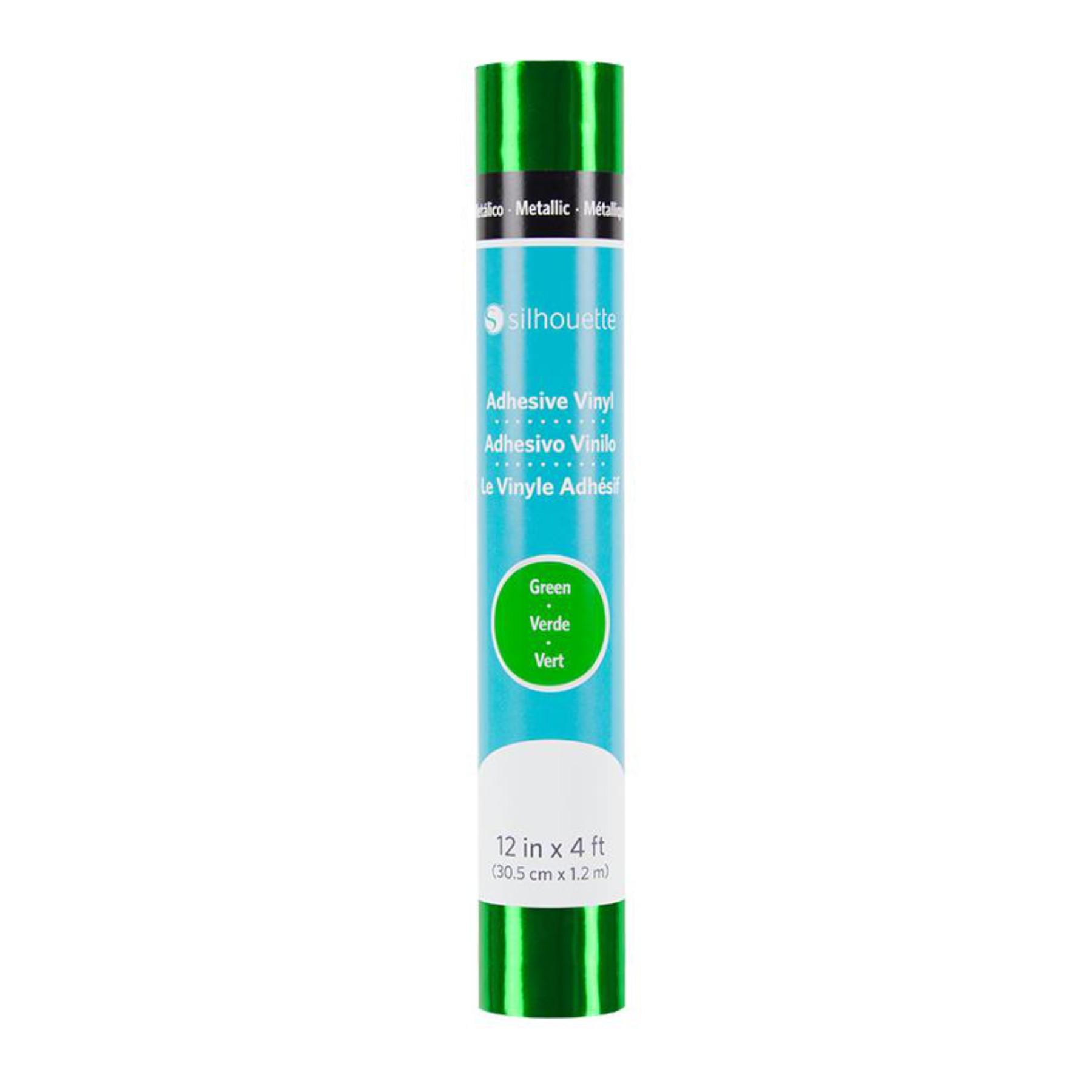 Vinilo autoadhesivo metalizado verde
