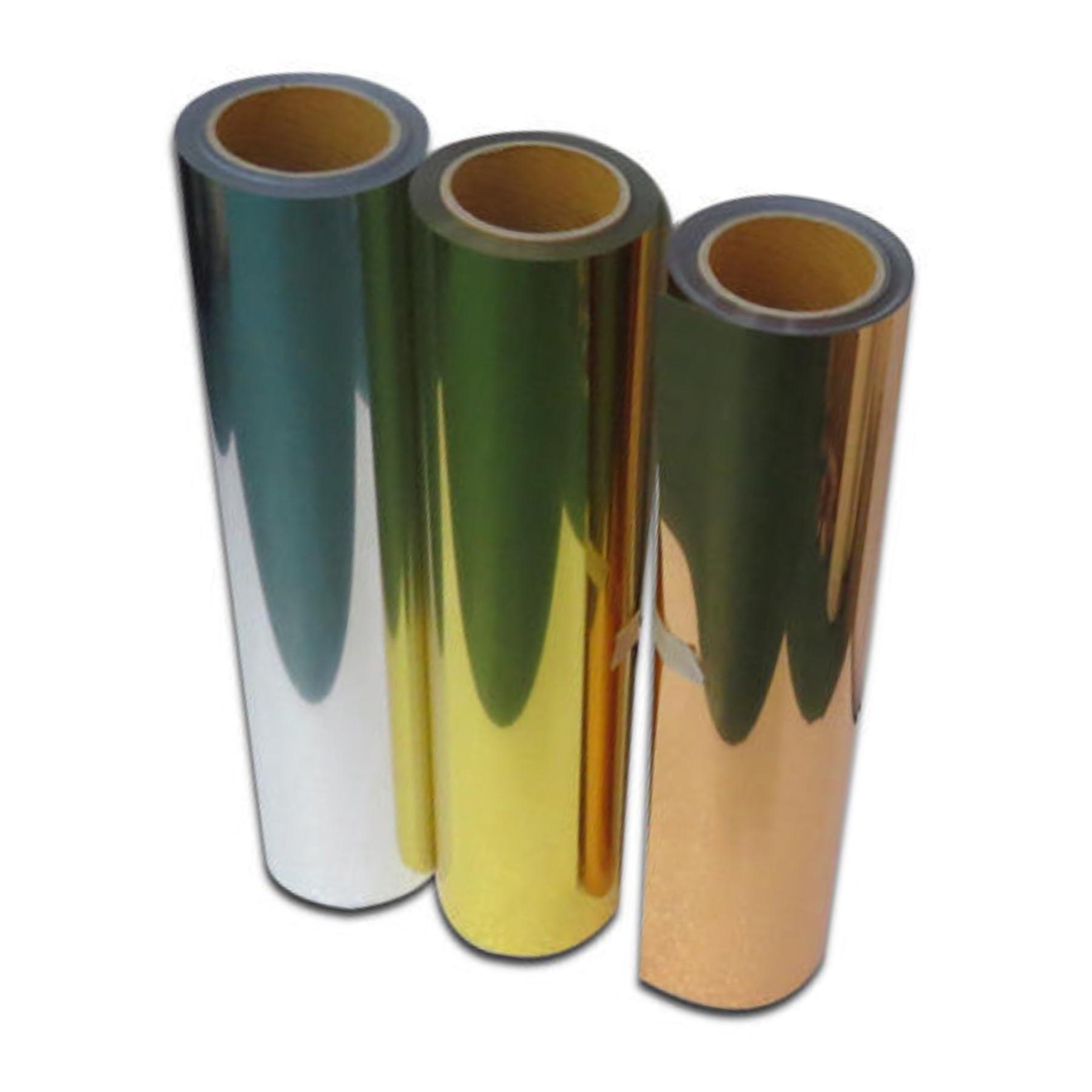 Vinilo termotransferible metalizado 30 x 50 cm