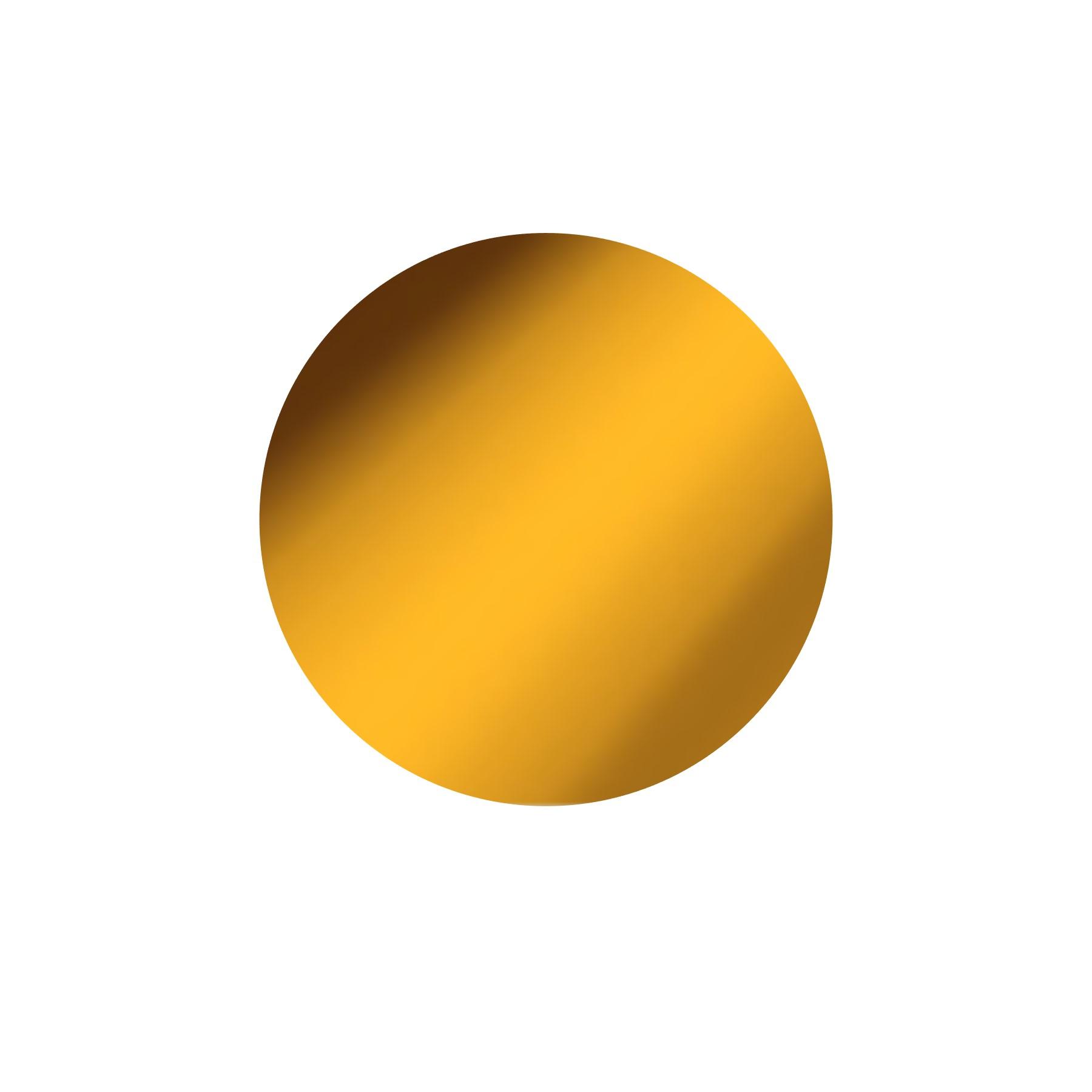 Vinilo termotransferible metalizado 30 x 50 cm  Dorado