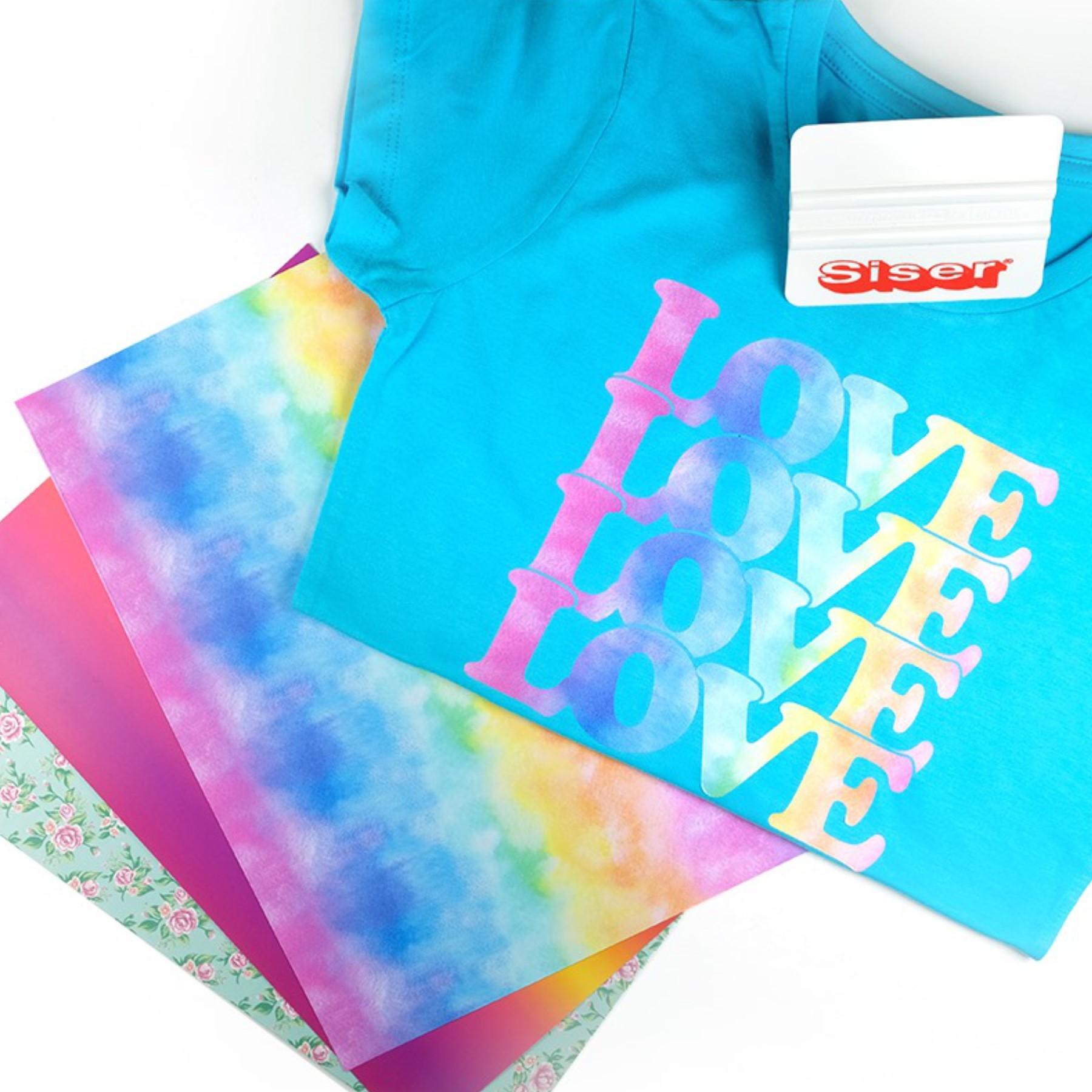 Vinilo textil diseños EasyPatterns® 30 x 50 cm