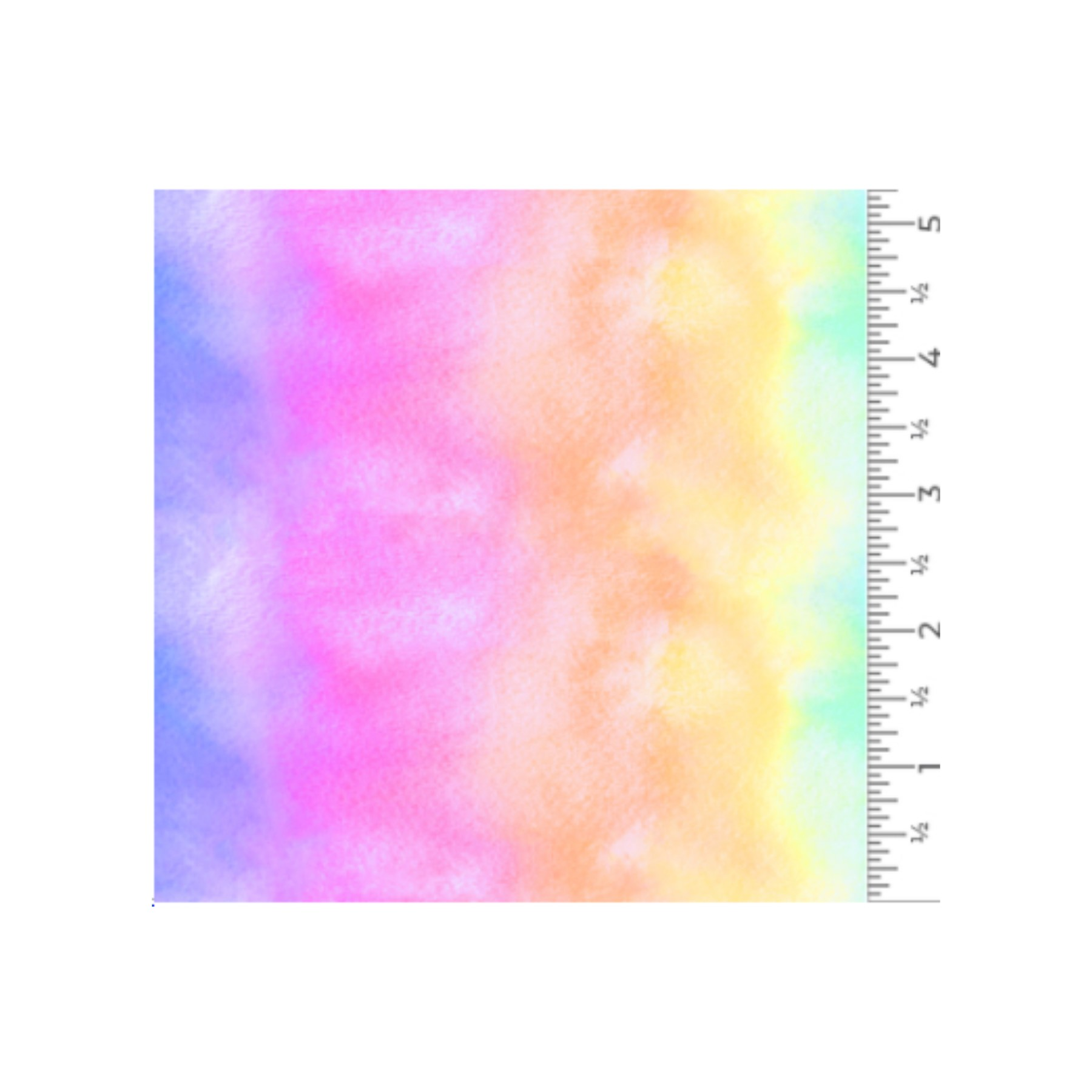 Vinilo textil diseños EasyPatterns® 30 x 50 cm Arcoiris acuarela