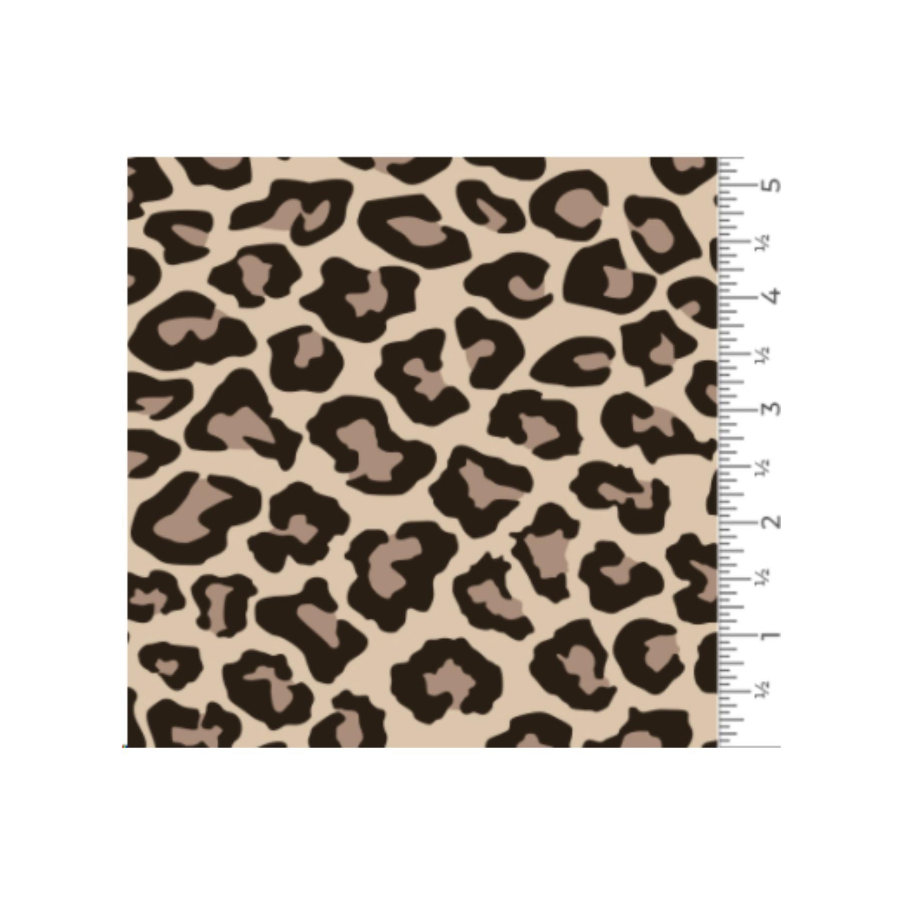Vinilo textil diseños EasyPatterns® 30 x 50 cm Leopardo