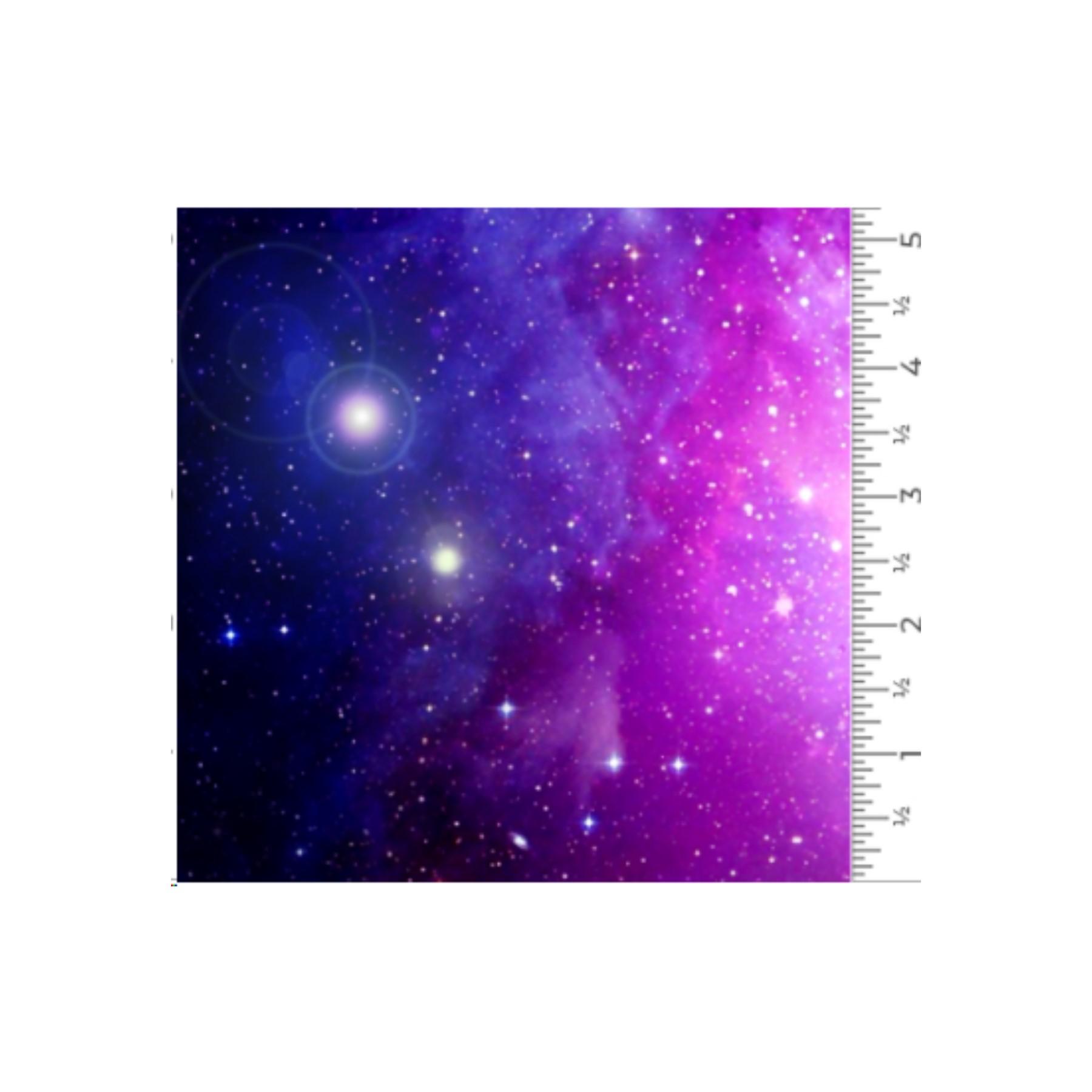 Vinilo textil diseños EasyPatterns® 30 x 50 cm Galaxia
