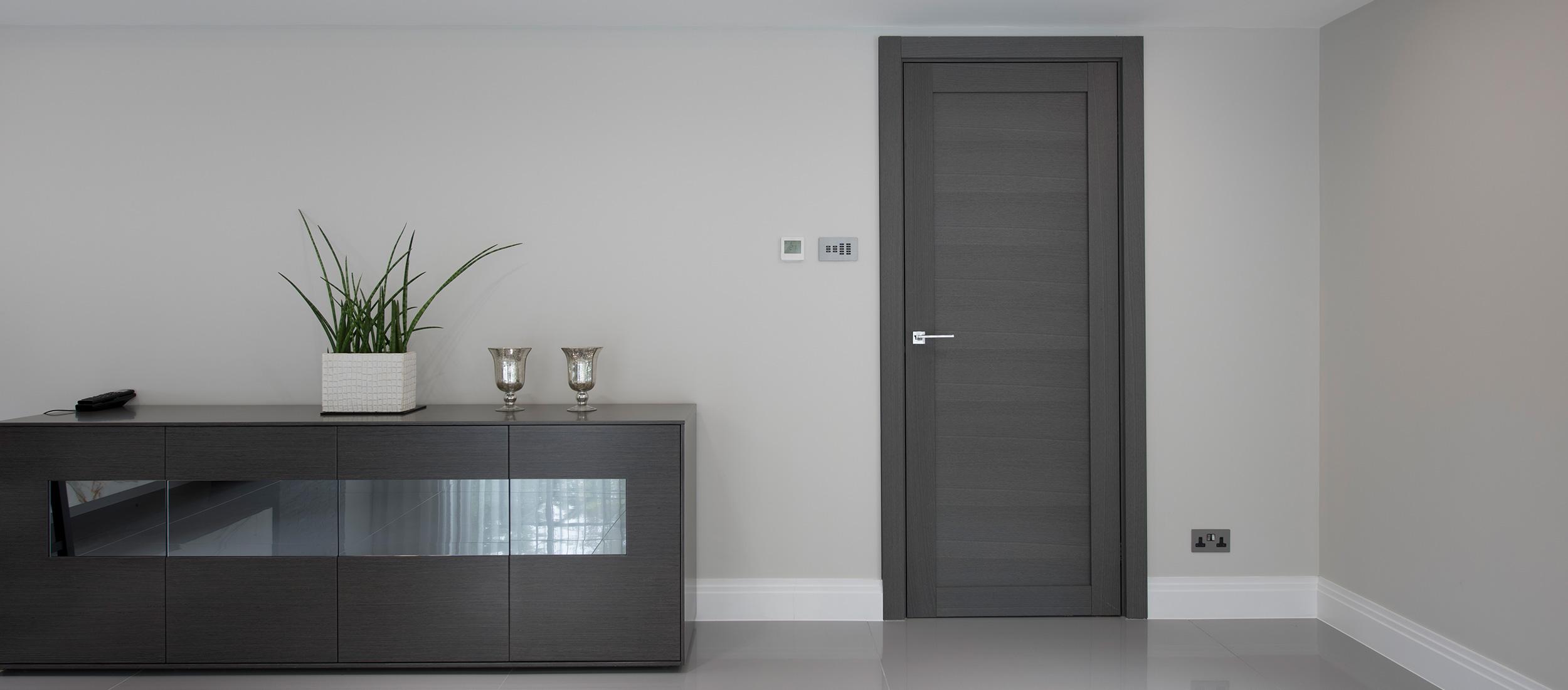 Black Ash Contemporary Internal Doors Deuren
