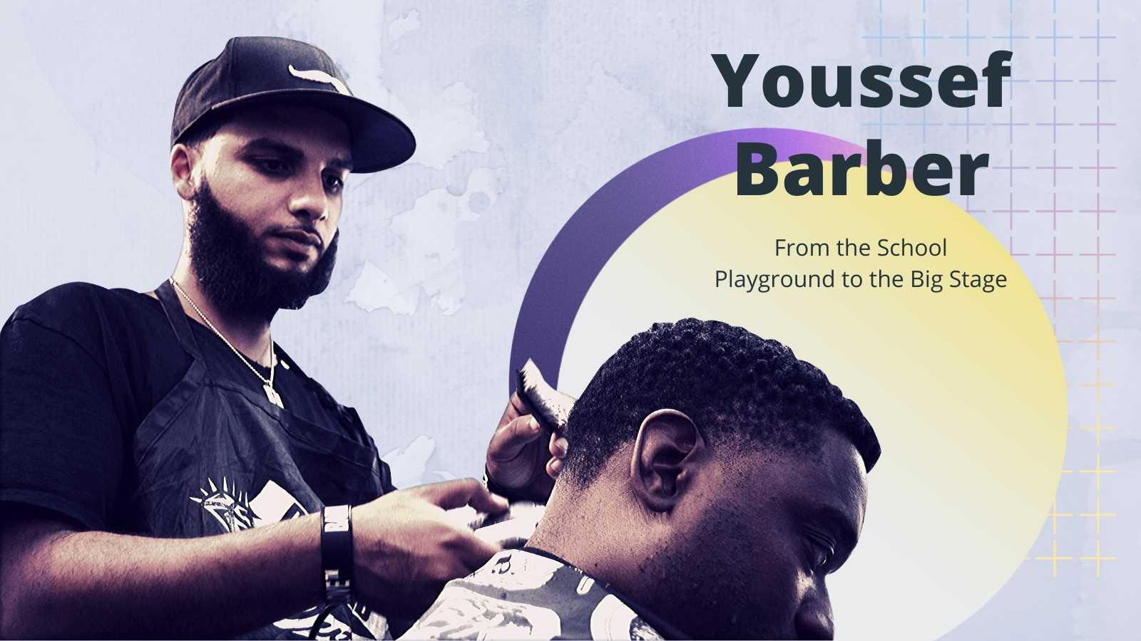 Youssef Barber_ From the School Playground to the Big Stage