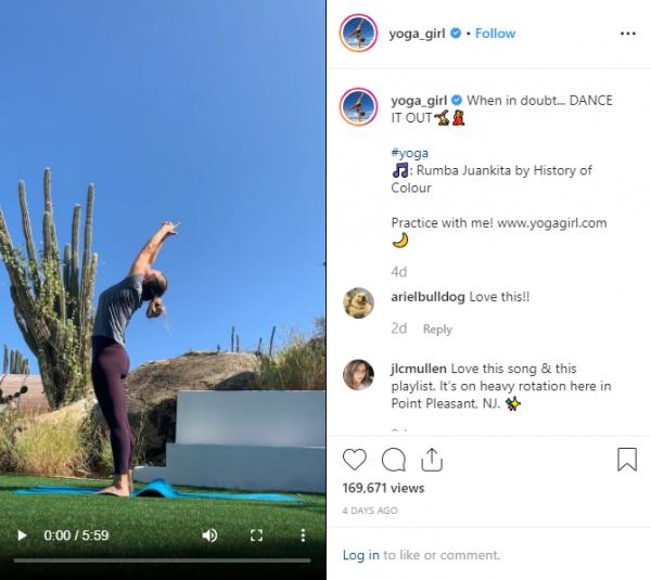 Rachel Brathen - a.k.a. Yoga Girl