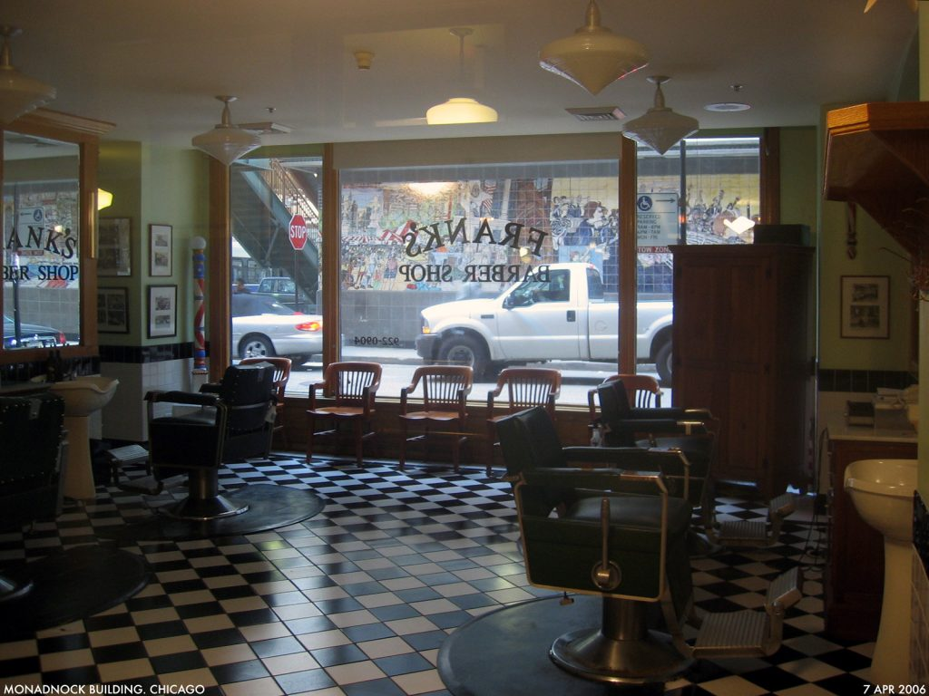 barbershop flooring