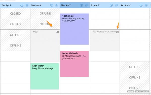 Genbook Calendar Management