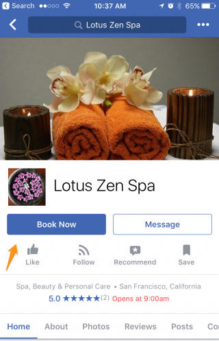 Lotus Zen Spa on Facebook