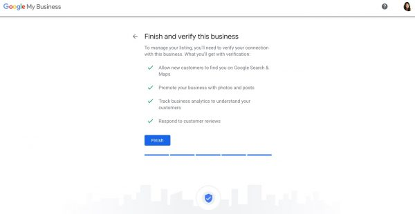 Set up a Google My Business profile step 6