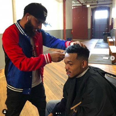 Youssef Barber and Chance the Rapper