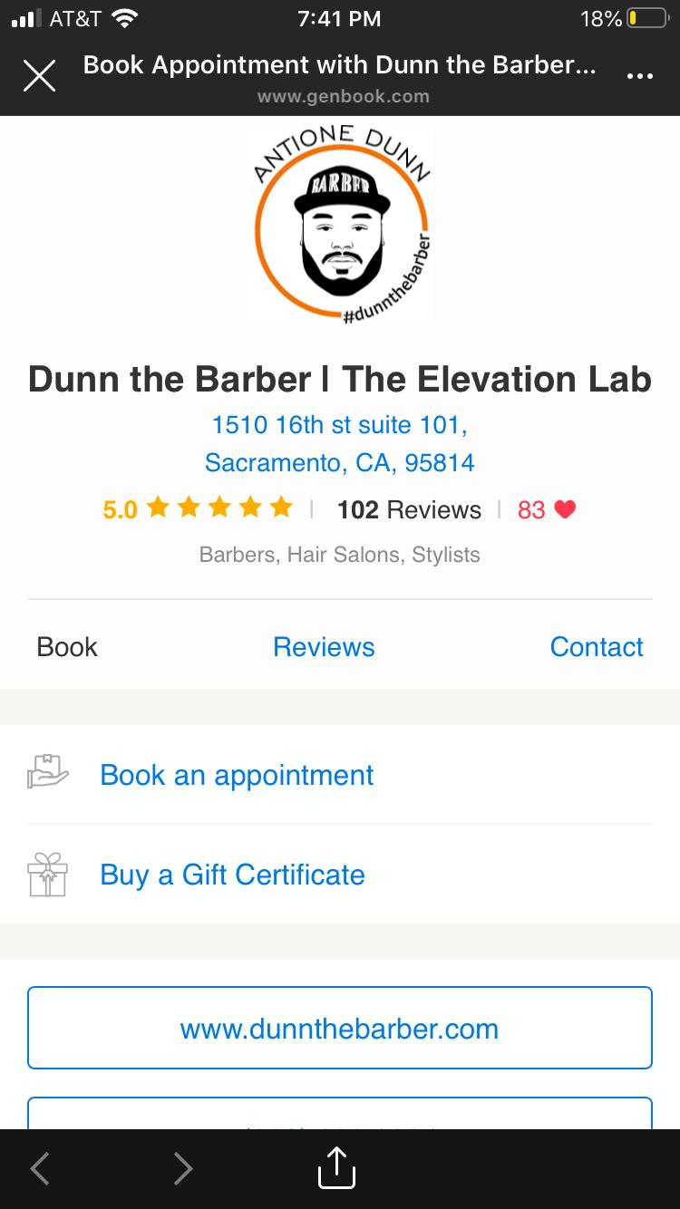 Dunn the Barber
