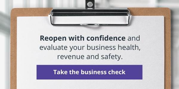 business health check covid personal services