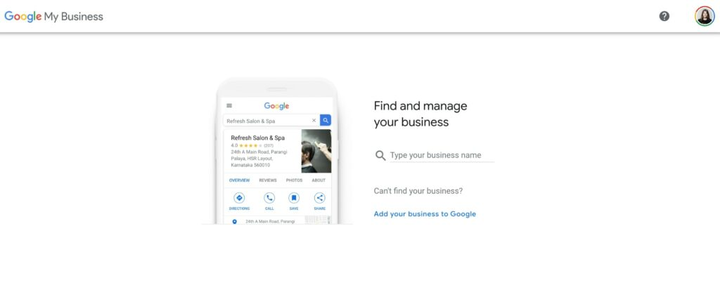 What is Local SEO:  Google My Business profile