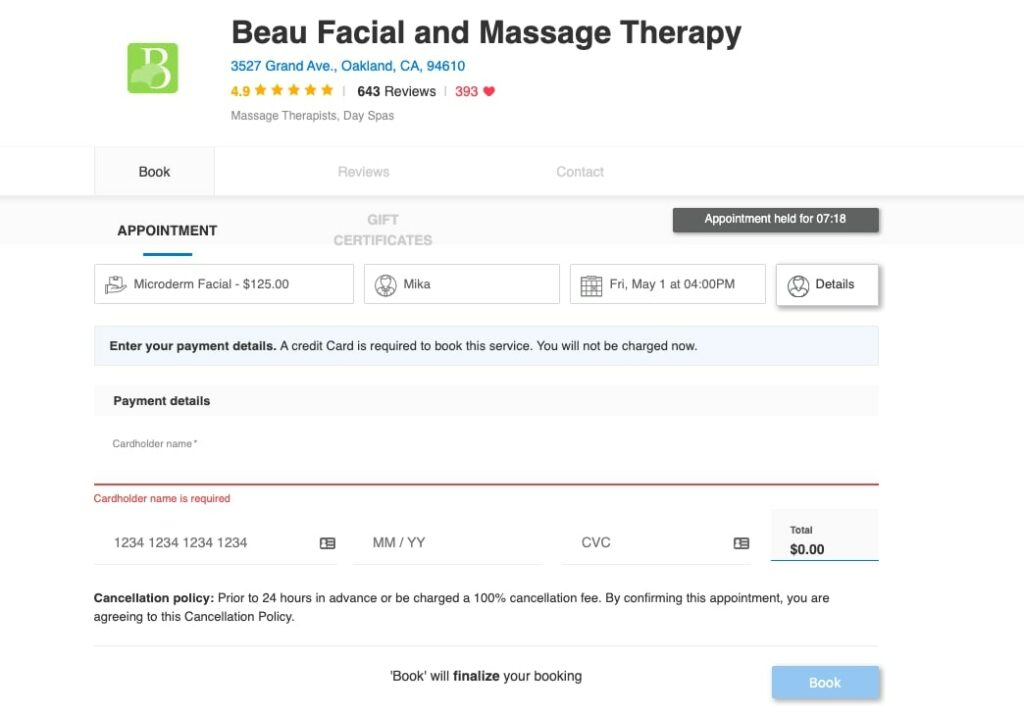 Massage Therapy Software: Enforceable Policies