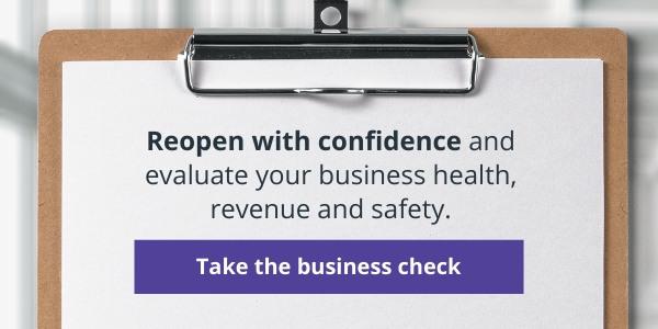 COVID Business Health, Revenue & Safety Health Check