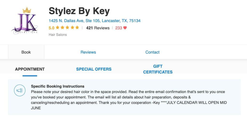 Trust in Business: Stylez by Key